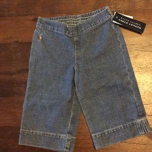 Ralph Lauren girls ankle length jeans